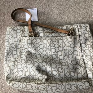 New CK purse large and never used